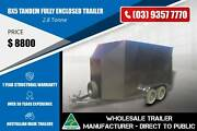 8x5 Grey colour Fully Enclosed Tandem Trailer Epping Whittlesea Area Preview