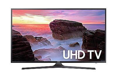 "Samsung 43"" Smart 4K UHD LED TV w/ Motion Rate 120, 3 HDMI / 2USB Ports & Wifi"