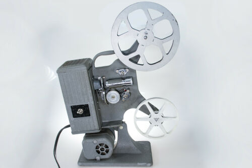 Vintage Keystone C-18 Movie Projector 8mm Film