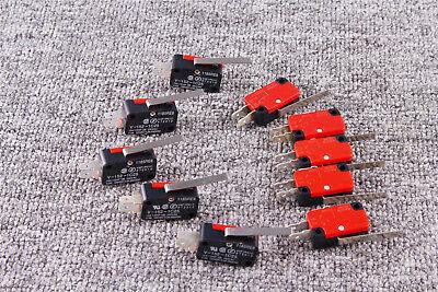 10pcs High Quality V-152-1c25 Straight Hinge Lever Ac Dc Micro Limit Switchs