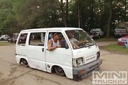2x Daihatsu hijet low roof 3cyl burnout skid pig Orange Orange Area Preview