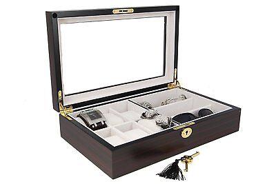 Decorebay seal brown sunglasses and jewelry Box Storage