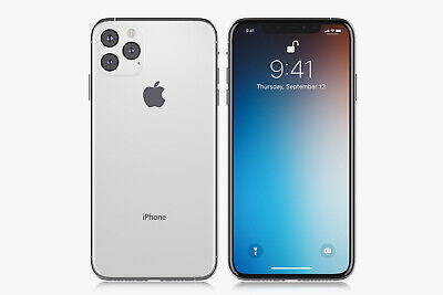 iPhone 11 Pro Max 64 GB Unlocked Silver White a2161