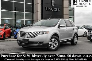 2014 Lincoln MKX AWD - PANORAMIC ROOF - TRAILER TOW