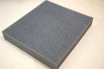 1x Recycled Foam Block Packing Shipping Gray Protection Pad Lining Density Thick