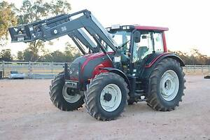 VALTRA N101 135HP TRACTOR WITH FRONT END LOADER Condamine Dalby Area Preview