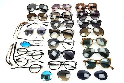 Various Designers 35pcs multicolor Mixed Styles Unisex eyeglass sunglasses Lot