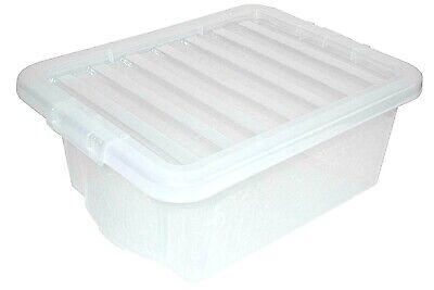 16L CRYSTAL BOX & LID, WHAM & Best Price Square, CLEAR