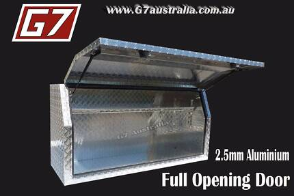 Aluminium Toolbox Full Door ute truck Tool box huge range of size