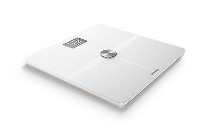 Withings (Nokia) Body Composition WiFi Scale Smart Body Analyzer & Health White