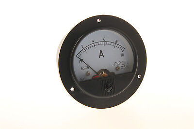 High Quality Round Analog Amp Panel Meter Dc 10a 65c5