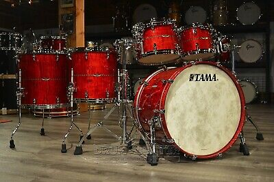 Tama Star Maple 5pc Shell Pack - Raspberry Curly Maple