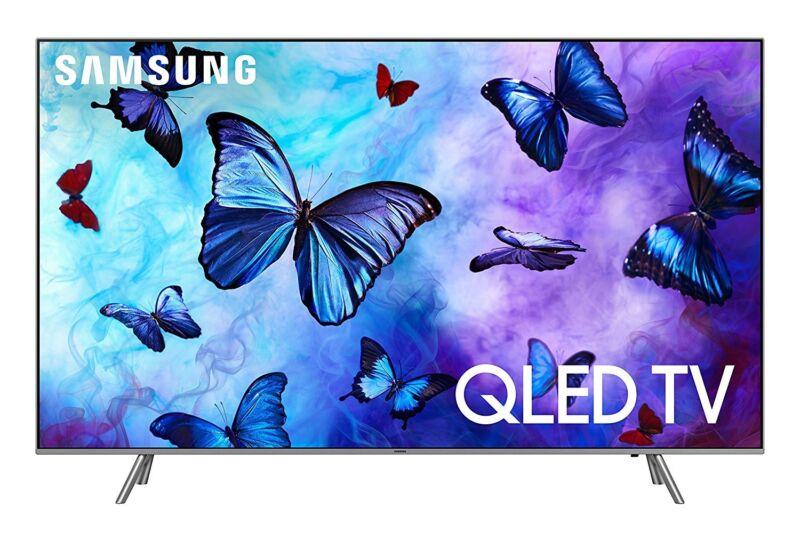 "Samsung 75"" Class LED Q6F Series 2160p Smart 4K UHD TV with HDR QN75Q6FNAFXZA"