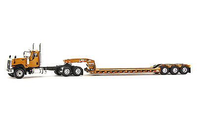 """Kenworth T800W Truck w// 4 Axle Rogers Lowboy Trailer /""""MILLER/"""" 1//50 WSI #32-2000"""