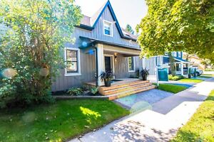 Stunning rebuilt century home located in old Aurora for rent