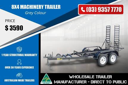 8x4 Machinery Trailer - GVM 2000kg Epping Whittlesea Area Preview