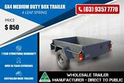 Medium Duty Box Trailer - 4 Leaf Spring - 6X4 Epping Whittlesea Area Preview