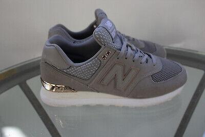 New Balance 574 shoes Grey Rose Gold  Women's US Size 8
