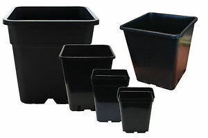 4-Pack-Quality-Square-Plant-Pots-Various-Sizes