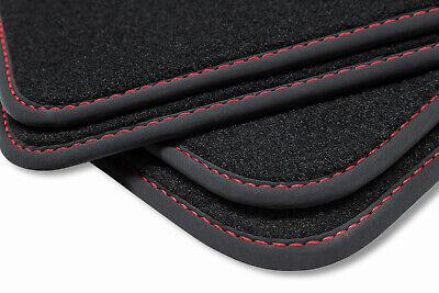 ab 2015 - 4-teilig Velour Fußmatten Satz Ford Mondeo MK5 Passgenau