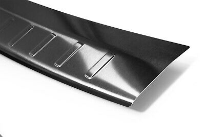 Edelstahl Ladekantenschutz Anthrazit für Mercedes GLA X156 5 J. Garantie ab 2013