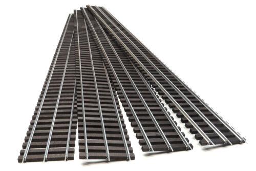 "Gargraves 501 37"" Flexible Straight Track, 4-Sections, Standard Gauge"