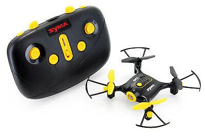 Tenergy Syma X20 Pocket Headless Quadcopter Mini RC Drone w/ Altitude Hold-Black