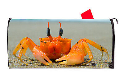 Cute Crab Vinyl Magnetic Mailbox Cover Excellent Quality Made in the - Cute Mailboxes