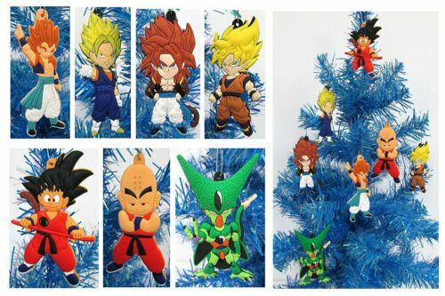 Dragon Ball Z Holiday Christmas Ornament 7 Piece Set