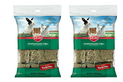 Kaytee Timothy Blend Hay Cubes (2 Pack ) 1Lb each for sale  Shipping to India