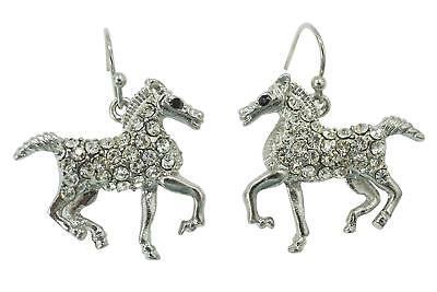 Horse Earrings - Galloping Horse earrings - running horse earrings