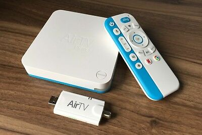 Airtv Player   Android Tv Streaming 4K Sling Netflix With Airtv Antenna Adapter