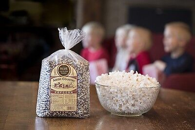 Amish Country Popcorn -Blue Gourmet Popcorn Kernels - 6lb- Air Popper Friendly