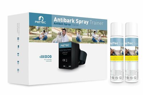 PetTec Antibell Spray Trainer + 2 Antibell Spray Citronella wie Petsafe Innotek