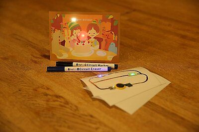 Agic Dazzly Starter Kit - Lets Make Luminous Card Stand Made In Japan