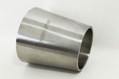 Sanitary Stainless Steel 304 2 X 1 12 Weld Concentric Reducer