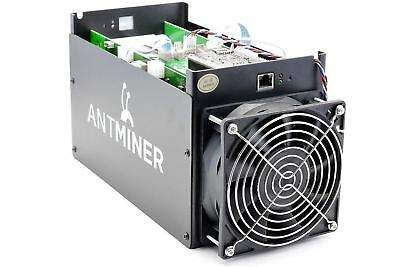 Antminer s5 1.15TH/s 1150GH/s Bitcoin SHA-256 Miner 4HRs Rent Try Before You Buy