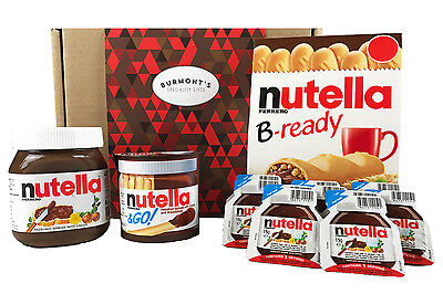 Nutella Ultimate Selection Box - 18 Items - The Perfect Nutella Lovers...