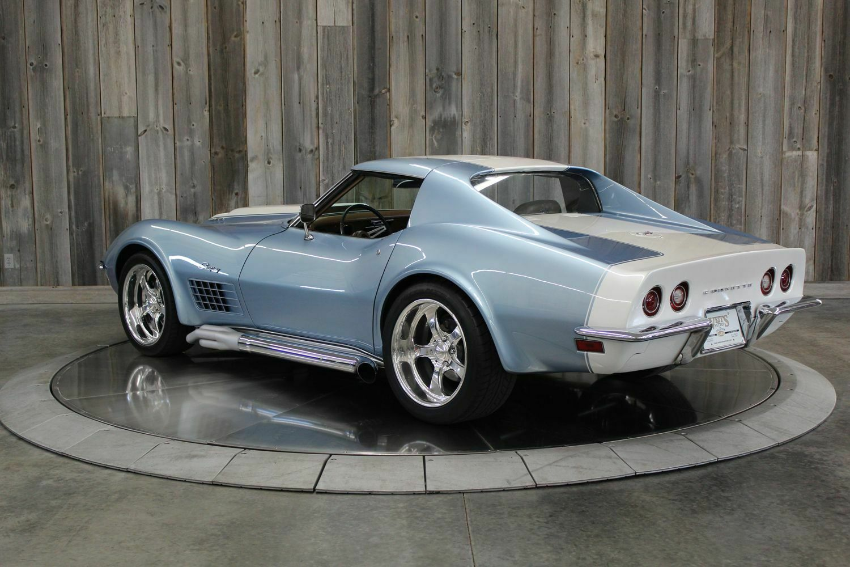 1972 Blkue Chevrolet Corvette     C3 Corvette Photo 4