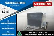 7x5-Single Axle Medium Duty Trailer - Fully Enclosed Epping Whittlesea Area Preview