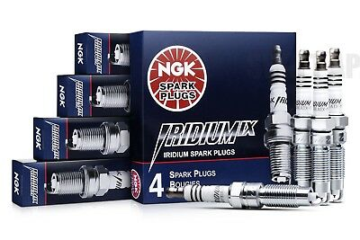4 Genuine NGK Iridium IX Spark Plugs Set - 3764- BKR6E1X11 - JAPAN Gapped Review