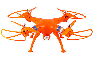 Syma X8W 2.4Ghz 4CH RC Headless FPV (Authentic Time) Quadcopter w/ Wifi Camera ORANGE