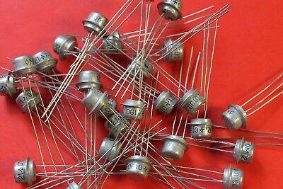 Mp21 35v Germanium Transistor Ussr Lot Of 30 Pcs