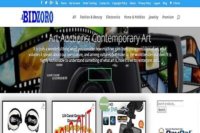 Auction Wordpress Website Big Money Maker