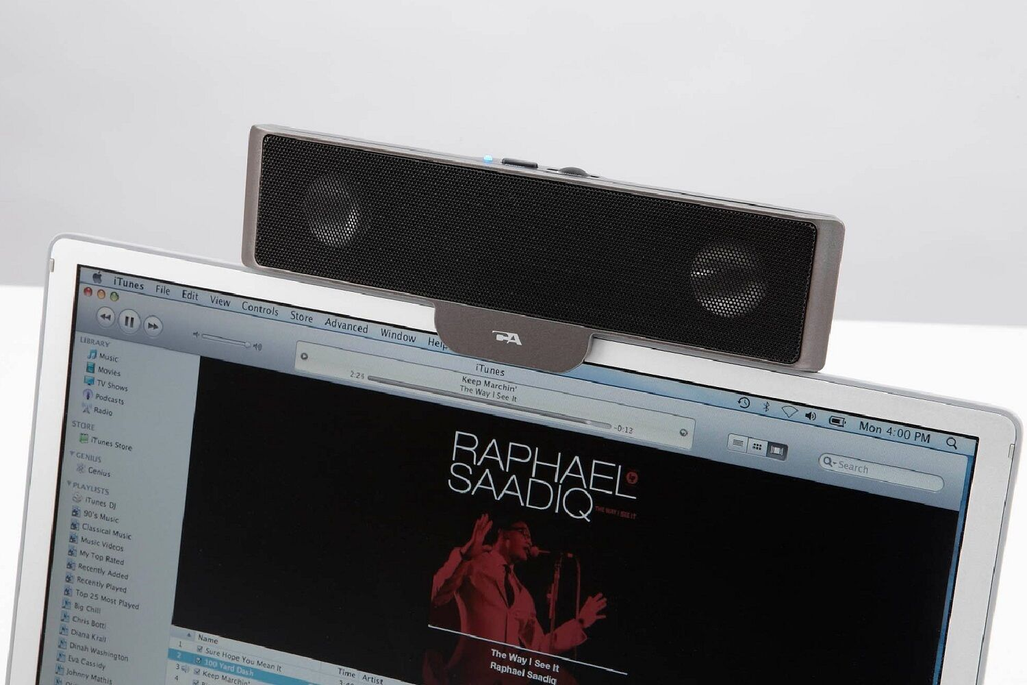 Cyber Acoustics Laptop Speaker Bar Clip-on Usb Wired Comp...