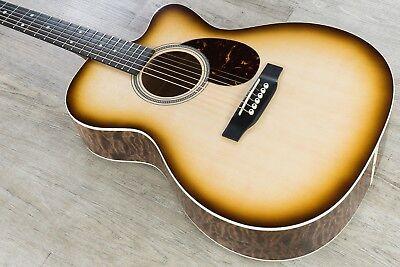 Martin Namm 2018 Custom Shop 000 Acoustic Guitar Quilt Maple Walnut Sunburst