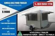 1.4 Tonne Single Axle Food Trailer 3m x 2.2m x 2.2m Epping Whittlesea Area Preview