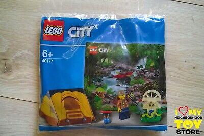 RETIRED - LEGO 40177 POLYBAG CITY GIUNGLA JUNGLE EXPLORER KIT (2017) - NEW
