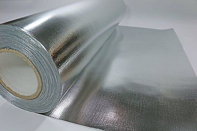 Solid Radiant Vapor Barrier Heat Shield Sauna Attic Foil 500qft 51inch Rafter