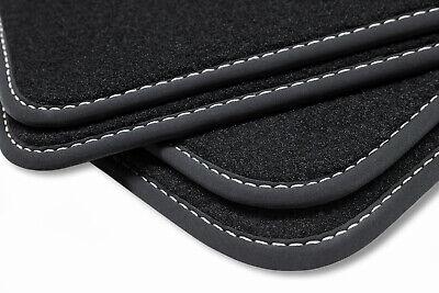 Fußmatten Mattenprofis Velour Fußmatten Doppelnaht für BMW 1er F21 3-türig ab Bj.12/2011